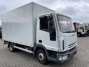 شاحنة مقفلة IVECO EuroCargo 75 E17 bakwagen plus laadklep