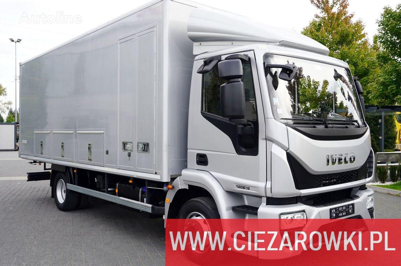شاحنة مقفلة IVECO EuroCargo ML 120E , 180.000km , E6 , 4x2 , 16 EPAL , Container 6