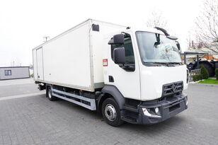 شاحنة مقفلة RENAULT D12 , E6 , 4x2 , Box 18 EPAL side door  , tail lift Dhollandia