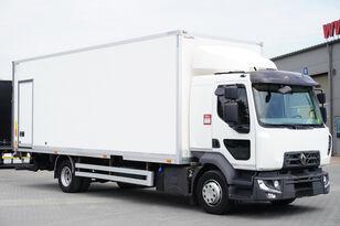 شاحنة مقفلة RENAULT Midlum D12 , E6 , SLEEP CAB , 18 EPAL Box , Tail lift , side doo