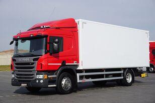 شاحنة مقفلة SCANIA P 250  / E 6 / KONTENER / 17 PALET / ŁAD. 9166 KG / MAŁY PRZEBIE