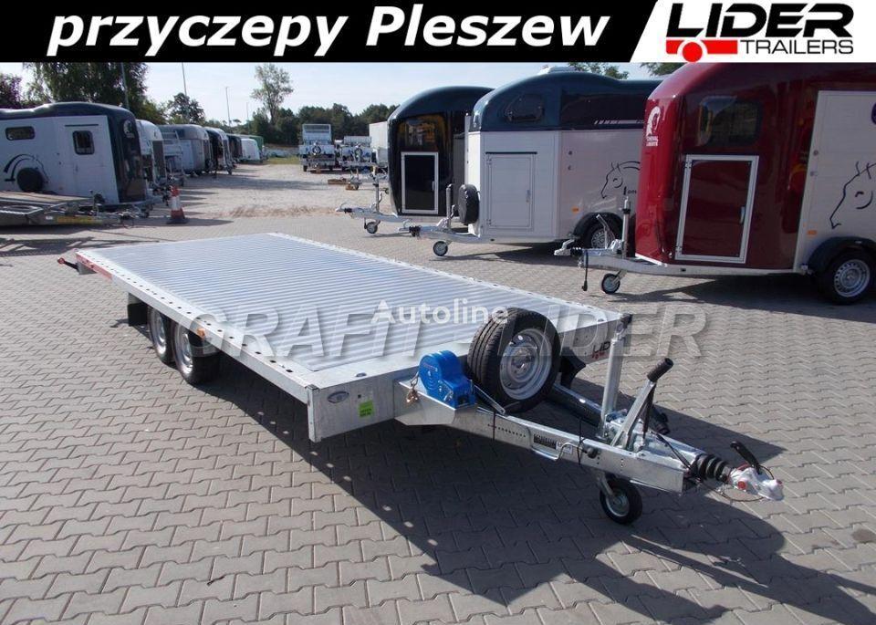 جديد العربات المقطورة شاحنة نقل السيارات TEMARED TM-175 przyczepa 511x215x30cm, Carplatform 5121S, laweta