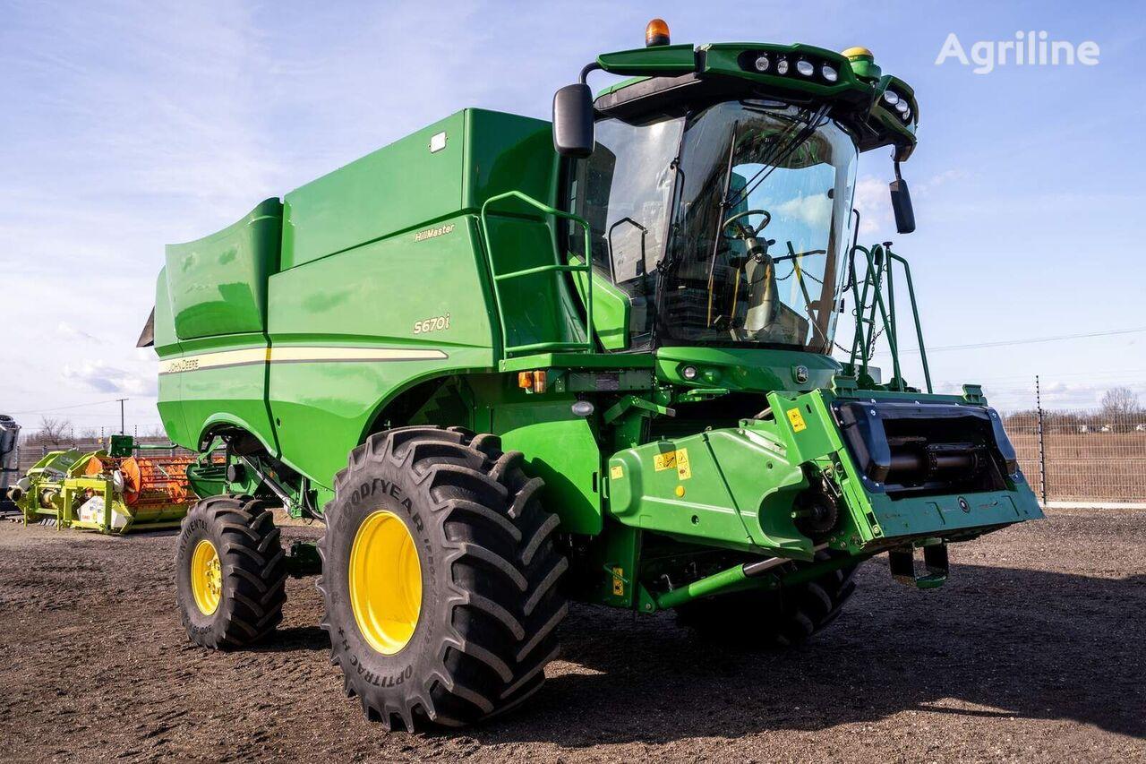 ماكينة حصادة دراسة JOHN DEERE S670i Hillmaster