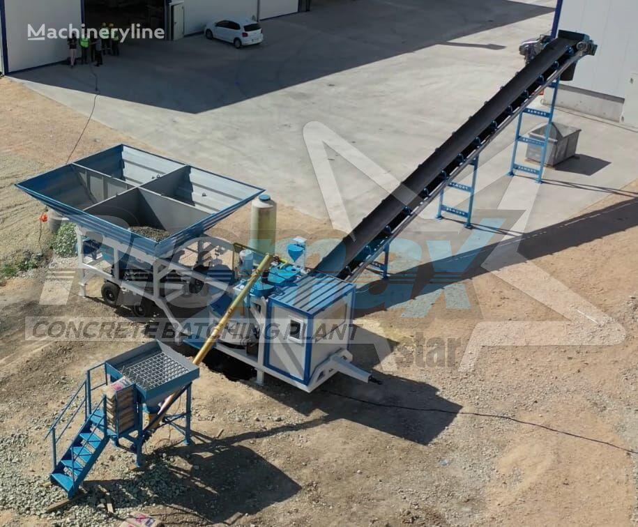 جديد ماكينة صناعة الخرسانة PROMAX Mobile Concrete Batching Plant M35-PLNT (35m3/h)