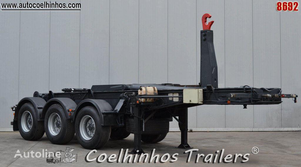 العربات نصف المقطورة شاحنة نقل الحاويات Louritex