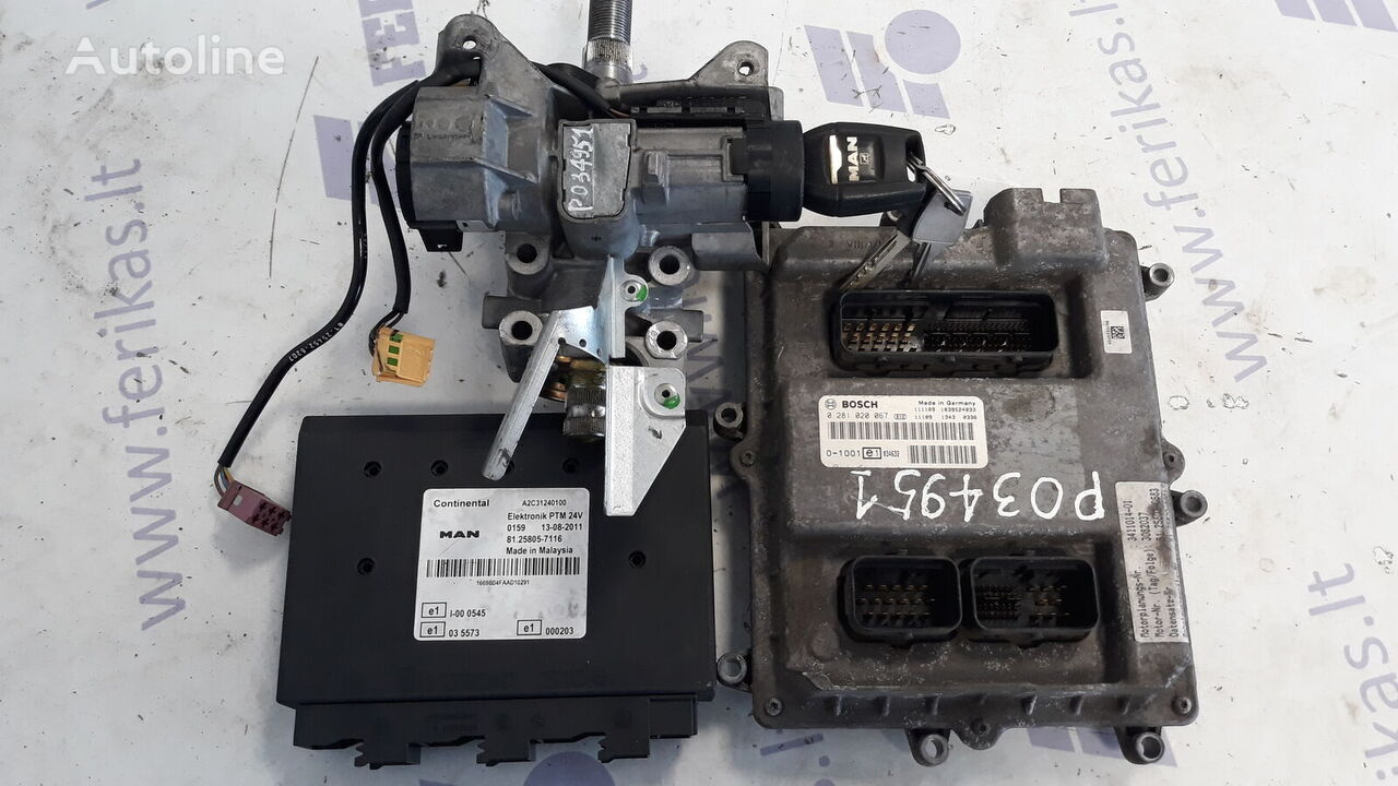 وحدة التحكم MAN D2676 EURO 5 ECU set لـ السيارات القاطرة MAN TGX