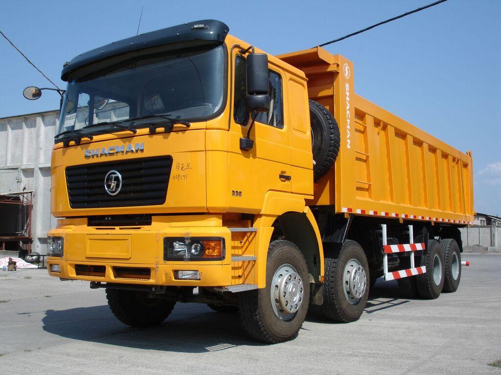 جديدة شاحنة قلابة SHACMAN SHAANXI SX33186T366