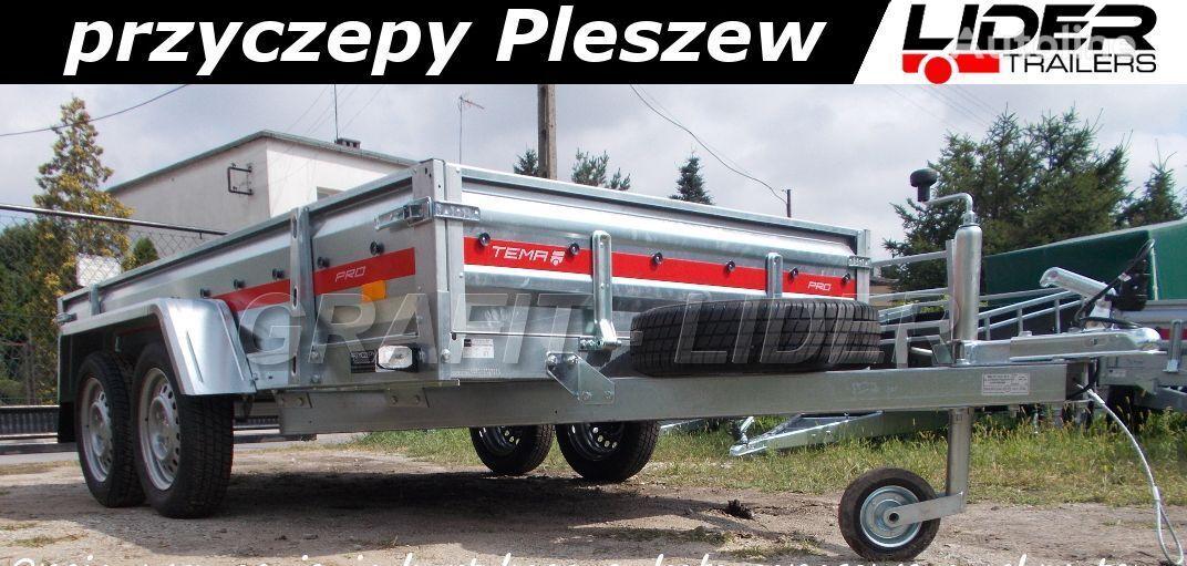 جديد مقطورة لسيارة الركاب TEMARED TM-016 przyczepa lekka 300x150x35cm PRO 3015/2, 2x oś NH 750kg,