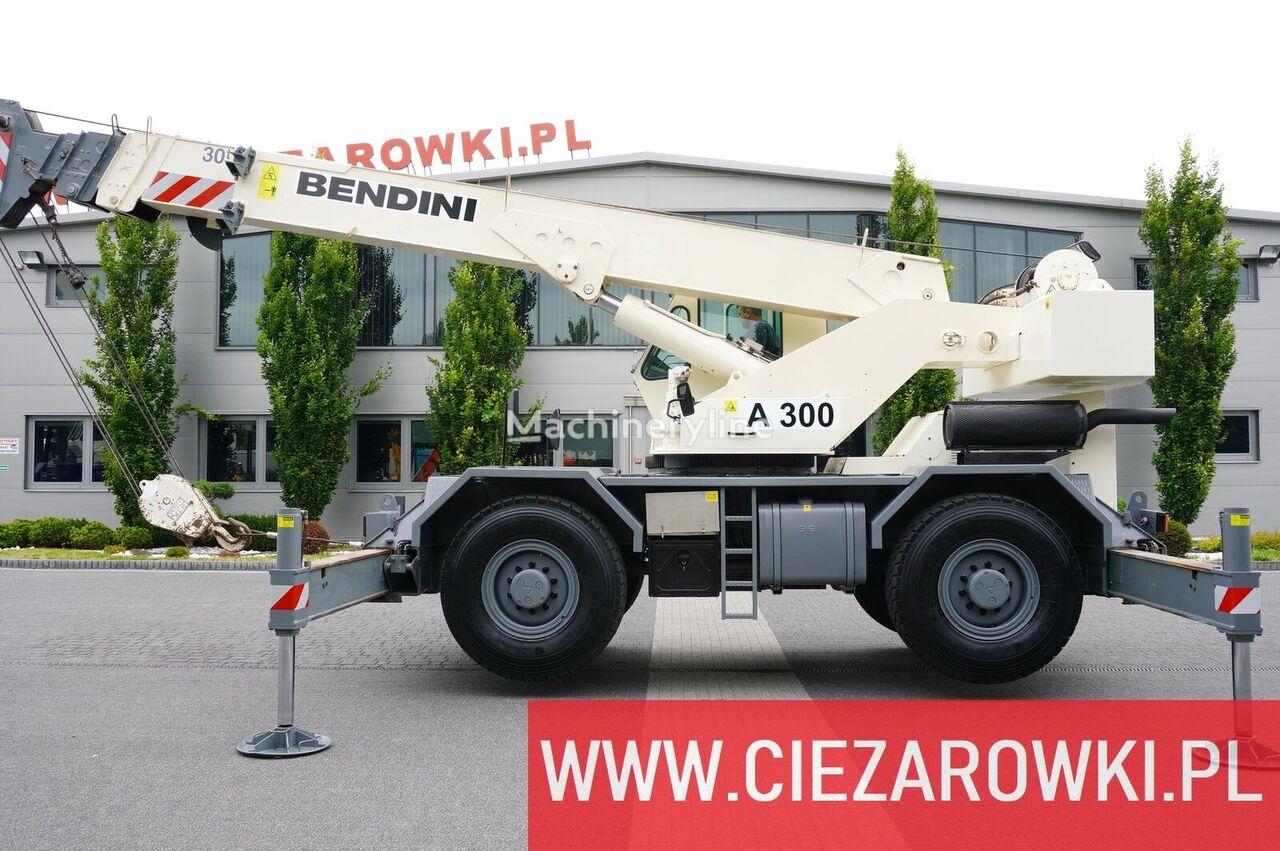 شاحنة رافعة TEREX Bendini A300 , 4x4x4 , 30t - 24m