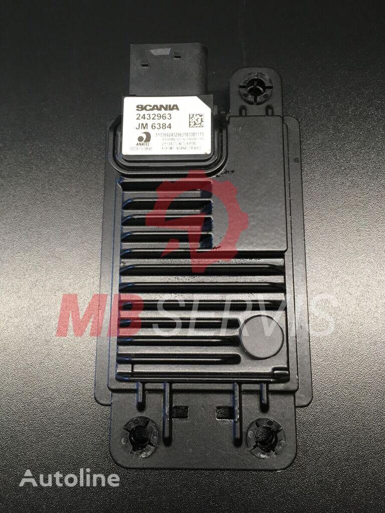 قطعة غيار كهربية أخرى RADAR / ECU DIS لـ السيارات القاطرة SCANIA 2432963 / 2381809 / 2718255