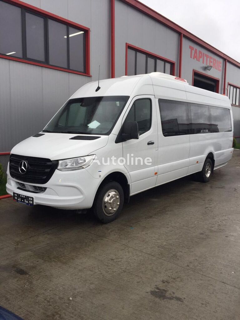 جديد الميكروباصات لنقل الركاب MERCEDES-BENZ Sprinter IDILIS 516,  22+1+1  *COC*  prolonged with 50cm fiber/s