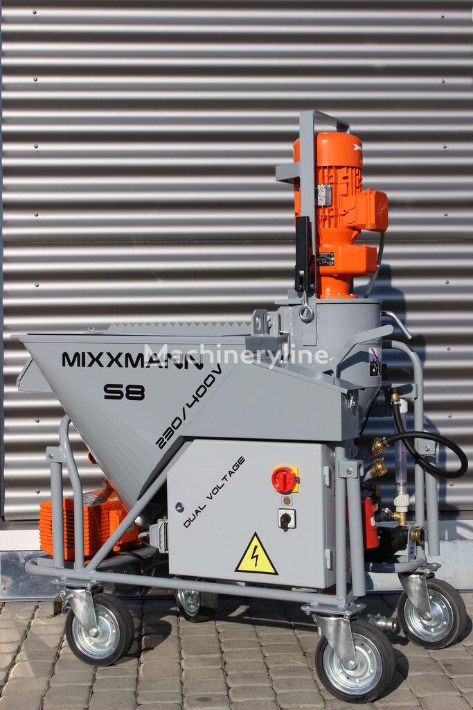 جديد ماكينة التمليط MIXXMANN S8 230/400V