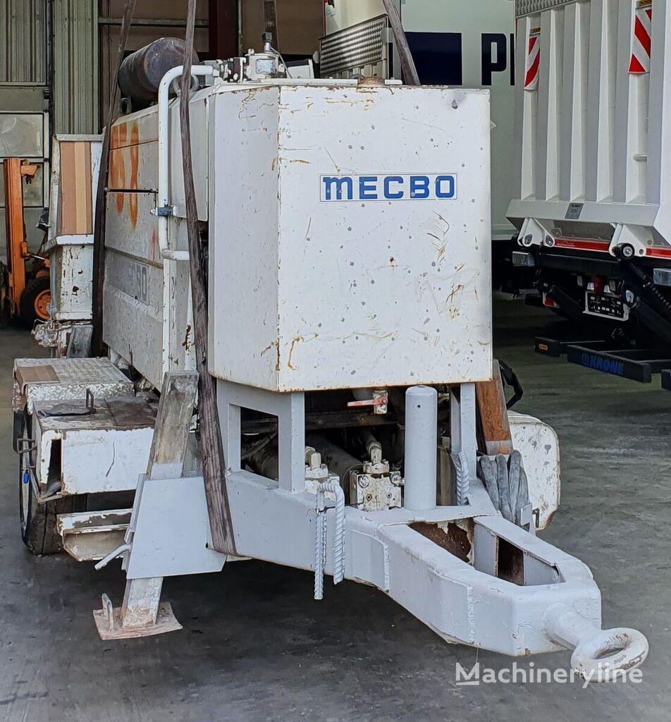 مضخة الخرسانة الثابتة PUTZMEISTER MECBO  CAR P 4/65 PRV/D