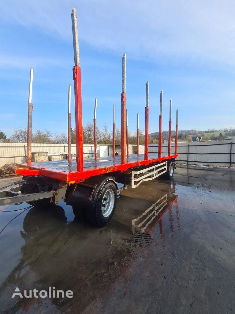 العربات المقطورة شاحنة نقل الأخشاب MHS PO20