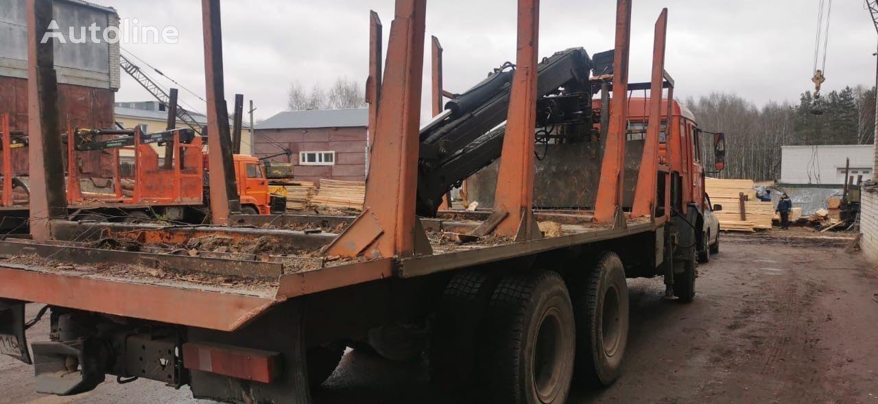 شاحنة نقل الأخشاب KAMAZ Manipulyator