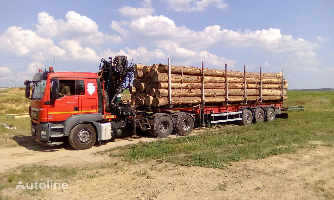 شاحنة نقل الأخشاب MAN TGS 26.480 6x4 BB