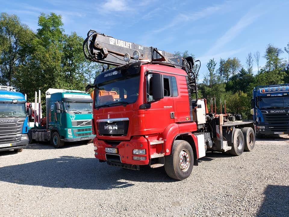 شاحنة نقل الأخشاب MAN TGS 26.540