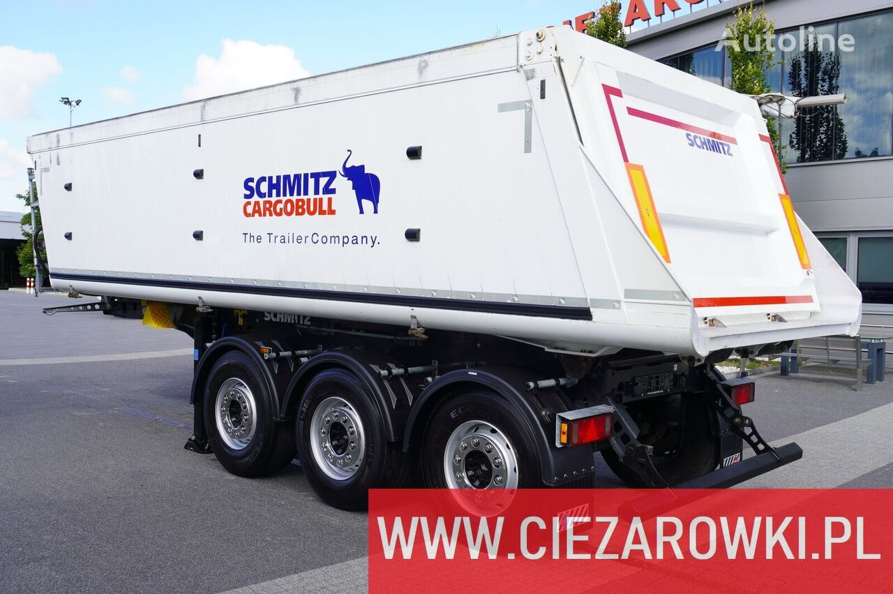 العربات نصف المقطورة شاحنة قلابة SCHMITZ CARGOBULL Gotha SGF-S3 , 29m3 , lift axle , 2019, LIKE NEW