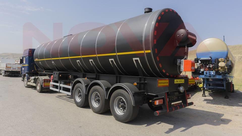 جديد عربة الصهريج لنقل البيتومين NOVA Bitum Asphalt Tanker with Heating System