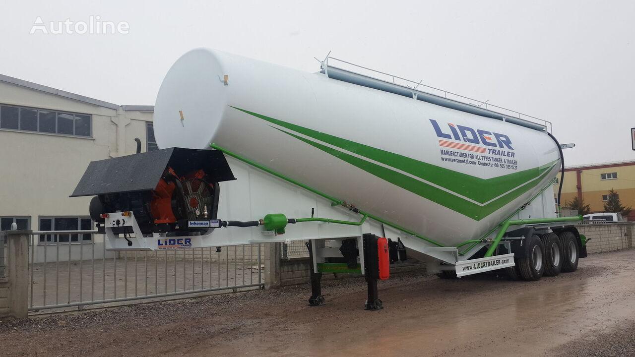 جديد شاحنة الصهريج لنقل الإسمنت LIDER 2019 NEW 80 TONS CAPACITY  FROM MANUFACTURER READY IN STOCK