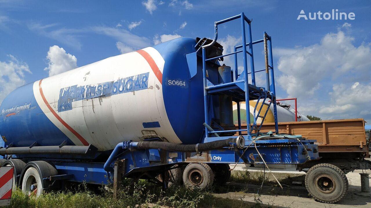 عربة الصهريج لنقل المواد الكيميائية SEADYKE SSFT32-3-TA