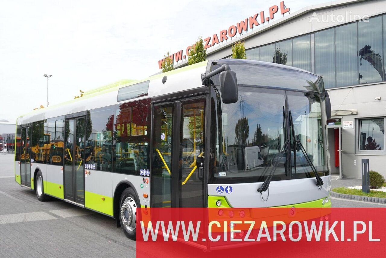 باص النقل الداخلي SOLBUS Solcity 12 LNG , 26 + 1 seats , 80 persons , city bus , LIKE NEW