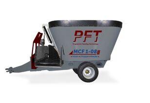 جديد ماكينة خلط الأعلاف PFT MCF 1-08