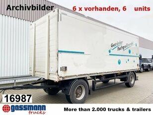 العربات المقطورة شاحنة مقفلة ORTEN PRASQ 18