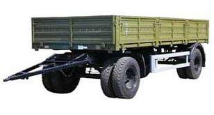 جديد العربات المقطورة شاحنة مسطحة KAMAZ СЗАП-8355