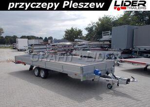 جديد العربات المقطورة شاحنة مسطحة TEMARED TM-171 przyczepa 588x211x30cm, Carplatform 6021S, laweta, platfo