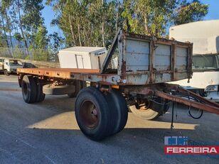 العربات المقطورة شاحنة مسطحة TITAN GR 216 T