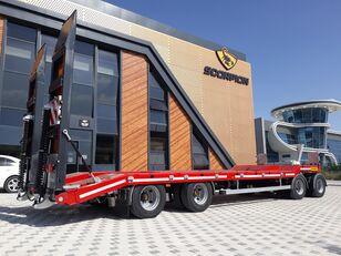 جديد العربات المقطورة عربة مقطورة مسطحة منخفضة SCORPION TRAILER 2021 UNUSED 4 AXLE (MANUFACTURER COMPANY)