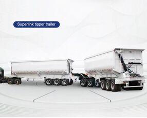 العربات المقطورة عربة مقطورة مسطحة منخفضة TITAN Trailers BAUXITES CARRYING TRAILER TRUCK