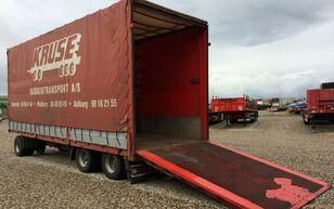 العربات المقطورة صندوق خلفي مغطى Dinkel plane / hydr. rampen