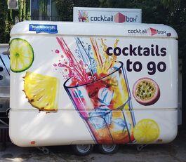 جديد العربات المقطورة نقل البضائع AIRSTREAM Cocktail Box