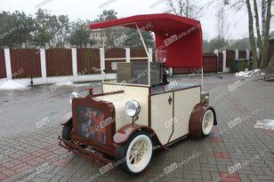 جديد العربات المقطورة نقل البضائع BMgrupa stand w stylu retro, stoisko gastronomiczne, catering trailers