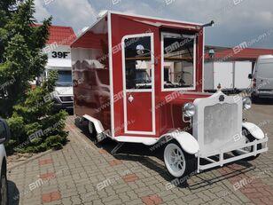 جديد العربات المقطورة نقل البضائع BODEX przyczepa handlowa, mobilna gastronomia, Verkaufsanhänger, Cater