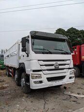 شاحنة مقفلة HOWO 336 HP 8x4 Drive Stake Body General Cargo Truck