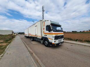 شاحنة مقفلة VOLVO FH12 380 + العربات المقطورة