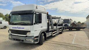شاحنة نقل السيارات MERCEDES-BENZ Atego 1323 / 7 Cars / Winch / Airco + العربات المقطورة شاحنة نقل السيارات