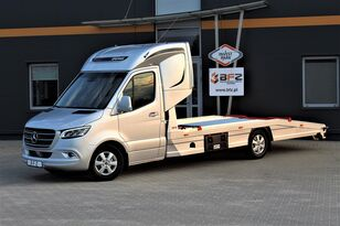 جديدة شاحنة نقل السيارات MERCEDES-BENZ Mercedes-Benz Sprinter 319 V6 LUFTFEDERUNG AB WERK Schlafkabine