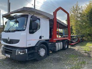 شاحنة نقل السيارات RENAULT Premium 460 EEV + العربات المقطورة شاحنة نقل السيارات