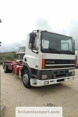 الشاسيه DAF CF85 380 left hand drive manual pump 6X2 26 ton 637422 Km!