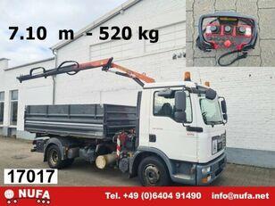 شاحنة قلابة MAN TGL 8.150 BB Kran-Kipper TGL 8.150 BB, Funk, Kran Palfinger 4501